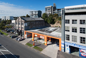 Another four floors could be constructed above the Parnell VTNZ building.