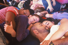 At monthly cuddle parties in Wellington, up to 20 people consent to hug and touch without sexual contact. Photo / Supplied