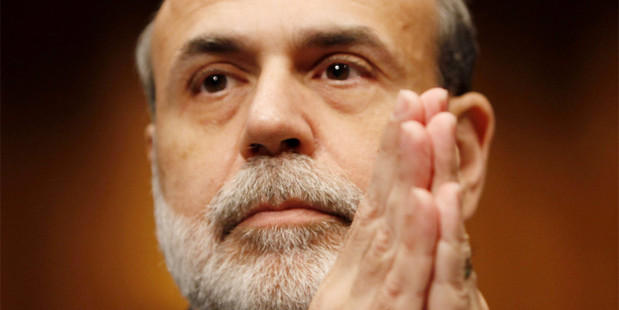 """The prevailing question in the US this week is 'What will Bernanke say?"""" Photo / AP"""