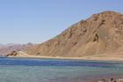 Egypt's famous Blue Hole dive spot on the Sinai Peninsula. Photo / Thinkstock