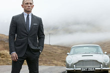 Daniel Craig is the best actor to portray super spy James Bond, according to Roger Moore. Photo / AP
