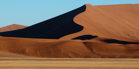 Driving through the Namib desert with its constantly shifting sand dunes is a dramatic experience. Photo / Thinkstock