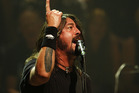 Dave Grohl says the Foo Fighters have played their last show for a long time. Photo / Richard Robinson