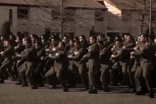 Video of the moving haka is now viral on the internet. Photo / NZ Defence video