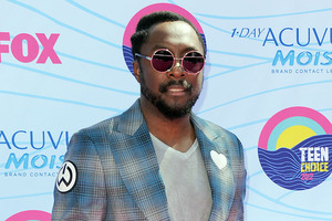 Rapper Will.i.am is releasing his next song on Mars. Photo / AP