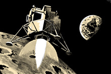 In December 1968, three astronauts orbiting the moon (not landing) sent back the first 'Earthrise' photos to the folks at home. Photo / Thinkstock