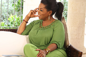 Oprah Winfrey has topped Forbes' celebrity rich list for 2012. Photo / AP