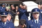 Hundreds of mourners packed an Otara church for Kali Fungavaka's funeral in Otara this morning after he died in Tonga after allegedly being assaulted by Tongan police officers and a cell mate.