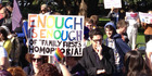 View: Gay marriage supporters march to Parliament