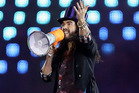 Russell Brand reportedly met Geri Halliwell during rehearsals for the Olympics. Photo / AP