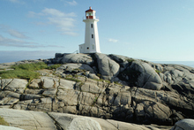 A lighthouse at Peggy's Cove in Nova Scotia, Canada. Photo / Thinkstock