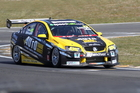 Jonathan Webb set a sizzling qualifying time for Sunday's Taupo 400 V8 SuperTourers endurance round. Photo / Supplied