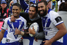 The Bulldogs have won the NRL's minor premiership for the first time in 18 years. Photo / Getty Images.