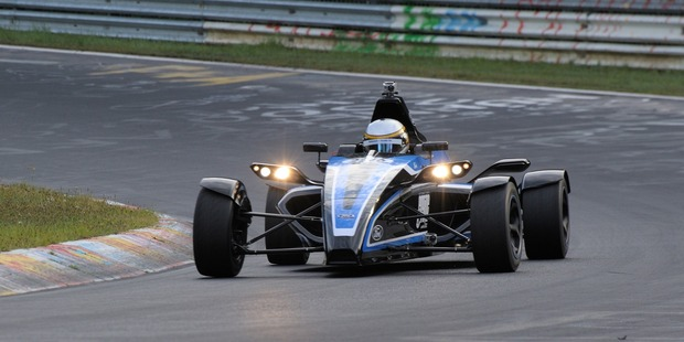 Ford's record-setting Formula Ford racecar powered by a three-cylinder EcoBoost engine. Photo / Supplied