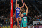 The Silver Ferns have been practicing The Harrison Hoist in an attempt to lift their chances of success in the upcoming international season. Photo / Getty Images.