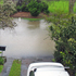 Flooding in Baddelet Avenue, Kohimarama. Photo / Mark Overton