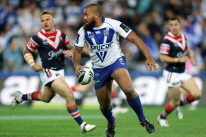 Des Hasler has worked wonders with Frank Pritchard at the Bulldogs this year.  Photo / Getty Images