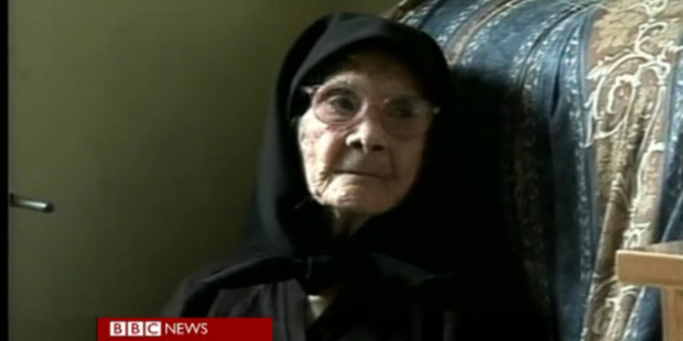 Consolata Melis looks back with a mixture of fondness and anger. Photo / BBC News