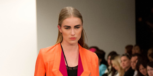Dunedin designer Sara Aspinall debuted a strong first collection under her label Company of Strangers. Photo / APN