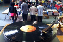 Vinyl records still have the power to lure avid buyers. Photo / Supplied