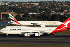 Under the 10-year deal with Emirates, Qantas will shift its hub for European flights from Singapore to Dubai. Photo / Supplied
