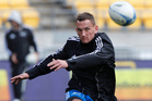 Aaron Cruden returns to the All Blacks starting line-up tonight because of Daniel Carter's strained calf. Photo / Mark Mitchell