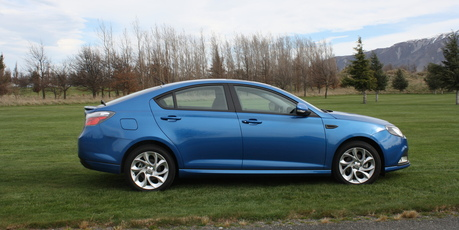 The MG6 GT, a five-door fastback, will be the first of several new models available in New Zealand. Picture / Ross Kiddie