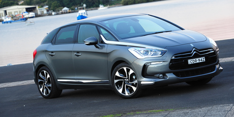 The DS5 has been named Family and Car Design of the year. Photo / Supplied