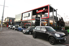 Mini's pop-up shop on Ponsonby Rd has received plenty of attention. Photo / Supplied