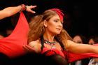 Dancers showcase Kagi's jewellery. Photo / Getty Images