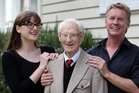 Don McGlashan with his father Bain and daughter Pearl. Photo / Doug Sherring
