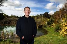 Former Kiwi captain Graeme West. Photo / Doug Sherring