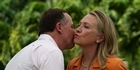 Watch: What John Key did and didn't say to Hillary Clinton
