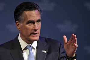 Mitt Romney. Photo / AP