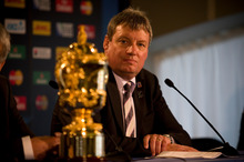 Martin Snedden, former Rugby New Zealand 2011 chief, has written a book on organising the World Cup, titled A Stadium of 4 Million. Photo / Dean Purcell