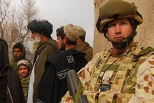 Australian troops in Afghanistan. Photo / NZ Herald