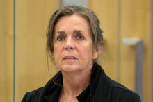 Jacqui Bradley appears at the Auckland District court. Photo / Greg Bowker