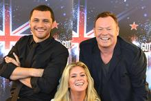 Jason Kerrison, Rachel Hunter and Ali Campbell are ready to check out the talent. Photo / NZ Herald