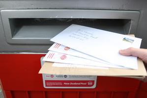 Ensure your mail has a return address. Photo / APN