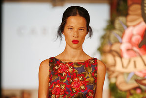Danielle Hayes at last year's Fashion Festival.