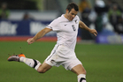 All Whites captain Ryan Nelsen. Photo / Richard Robinson