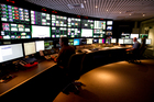 TVNZ control room. Photo / Dean Purcell.