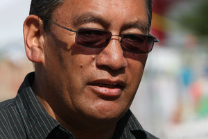 File photo of Mana Party leader Hone Harawira. Photo / Greg Bowker