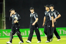 New Zealand haven't scored more than 300 in a second innings since November 2010.  Photo / Paul Taylor