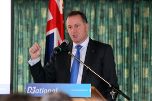 John Key's Government has faced several obstacles to its asset sales plan. Photo / Hawke's Bay Today