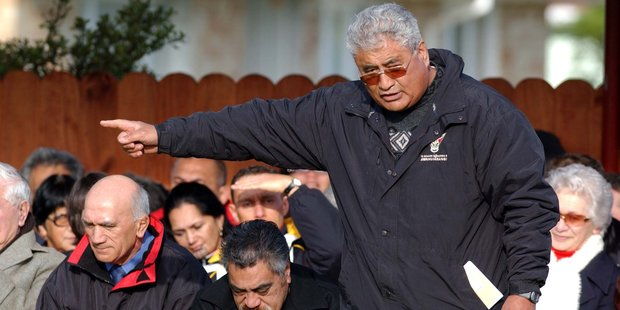 Maori Council co-chairman Maanu Paul says he is 'already geared up' to begin a court challenge. Photo / Phil Walter