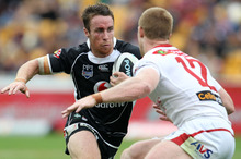 Recruiting James Maloney paid off big-time. Photo / NZPA