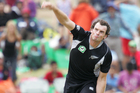 Kyle Mills appreciates the value to be derived from a 100% record against India before arriving in Sri Lanka. Photo / APN