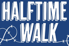 Book cover of Bill Lynn's Long Halftime Walk. Photo / Supplied