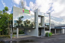The two-level office, warehouse and showroom building for sale at Diane Drive on the North Shore.